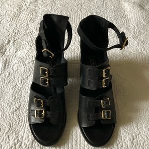Topshop Buckle Sandals NWT 8.5/9